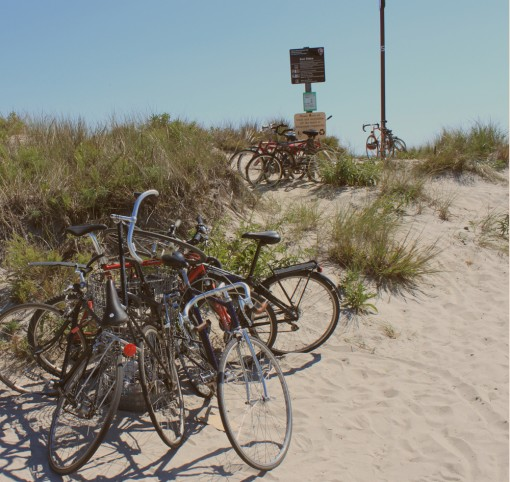 fort tilden, the most biked to beach in america, sustainable weekend, nyc, design squish blog