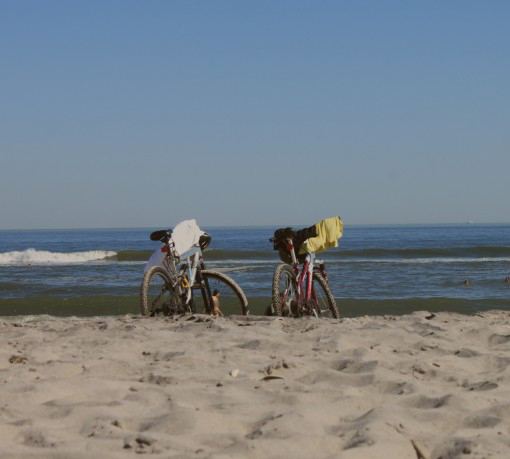 fort tilden, far rockaway,  best urban beach in america, sustainable weekend, nyc, most biked to beach, design squish blog