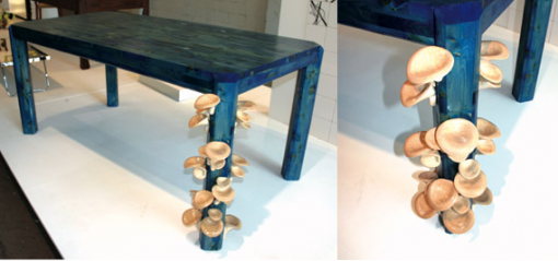 mushroom table