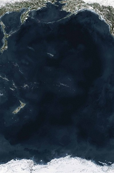 ocean, andreas gursky, contemporary photography, design squish blog