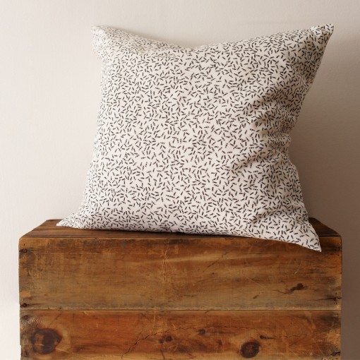 ant organic pillow, nature inspired design, design squish blog