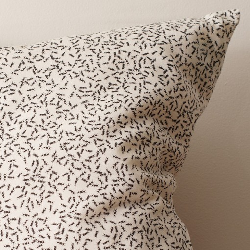 ant pillow, nature inspired, organic cotton, design squish blog