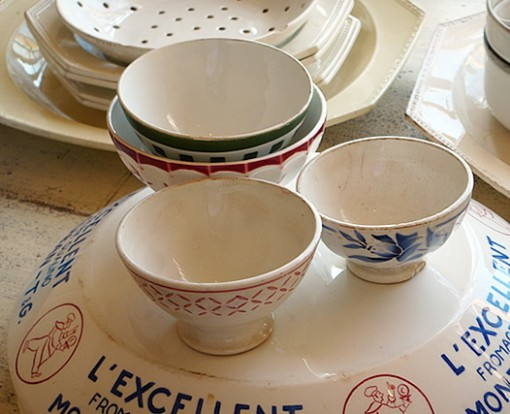 old vintage bowls