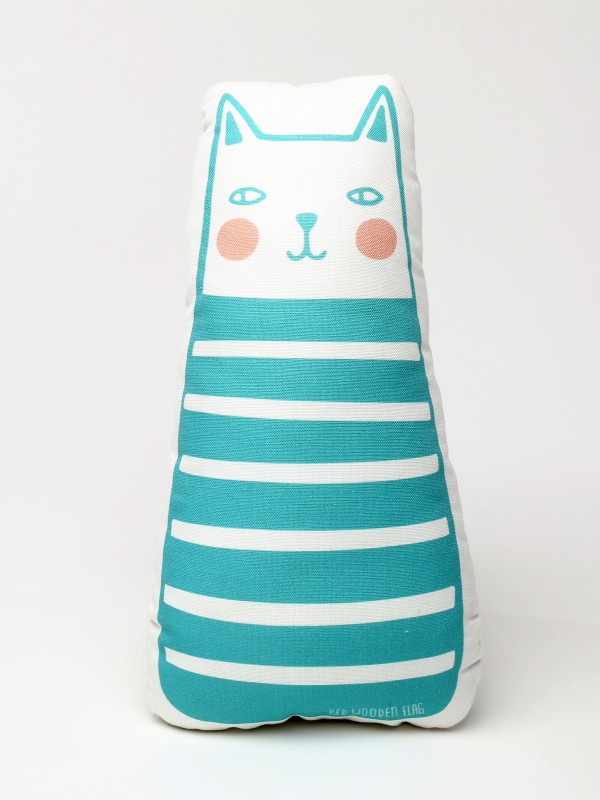 baby cat shape pillow