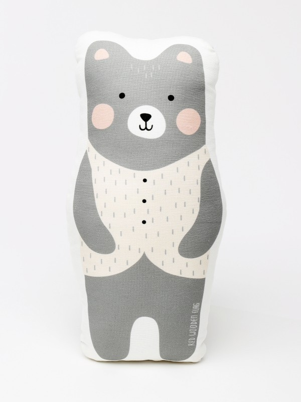 bear fox shape pillow