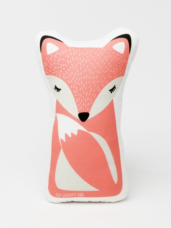 baby fox shape pillow