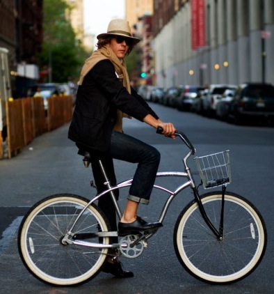 bike fashion, cycle chic