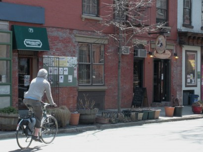 old brooklyn, biking in park slope, new york