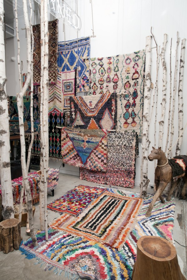 boucheroite rag rugs at love adorned, design squish blog