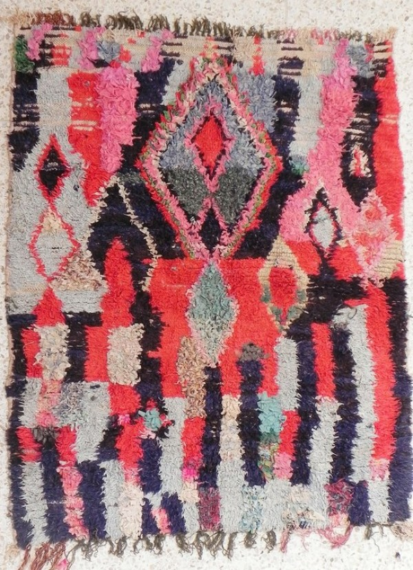 boucheroite rag rugs, moroccan ragg rugs, design squish blog