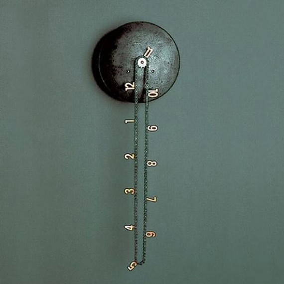 bike chain wall clock, design squish blog
