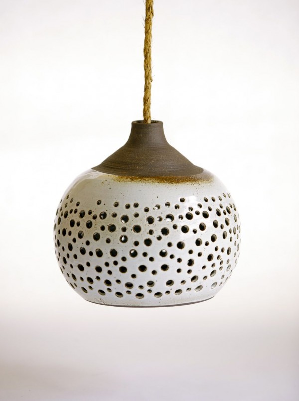 ceramic lamp, design squish blog