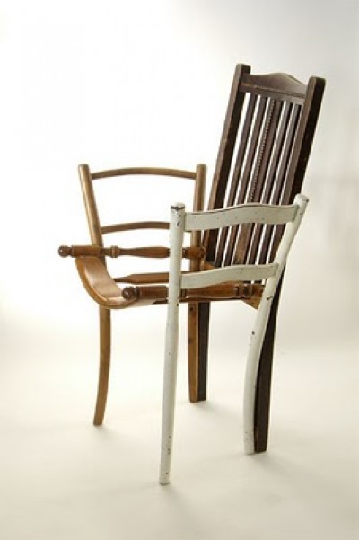 chair redesign, found objects,design squish blog