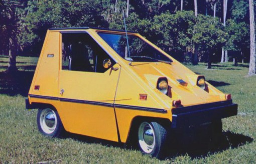 citicar, electric vehicle, commuter electric car, design squish blog
