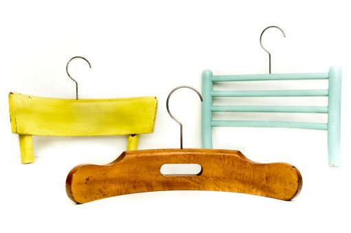RECYCLED CHAIRS INTO COAT HANGERS, design squish blog