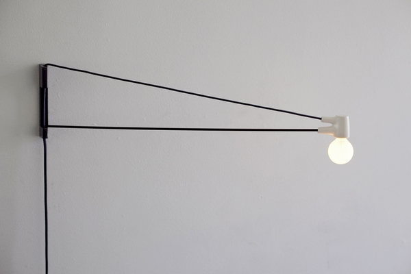 cord lamp by brendan ravenhill, design squish blog