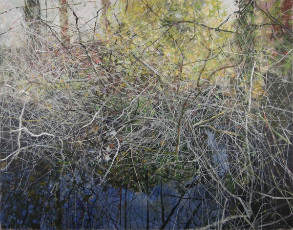 creekside grasses, painting, gordon smith