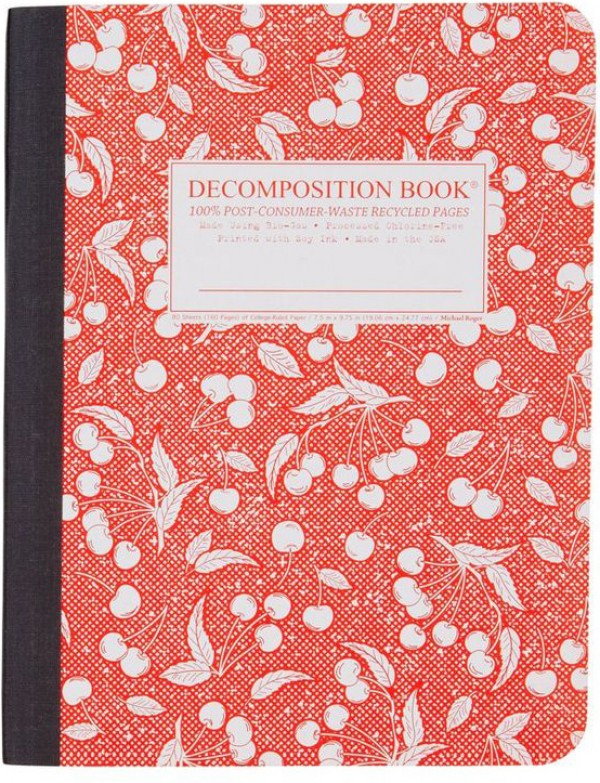 decomposition notebook, design squish blog