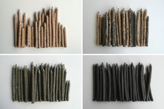 handmade pencils, design squish blog
