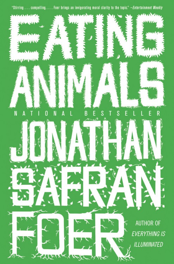 eating animals, national bestseller, jonathan safran foer, design squish blog