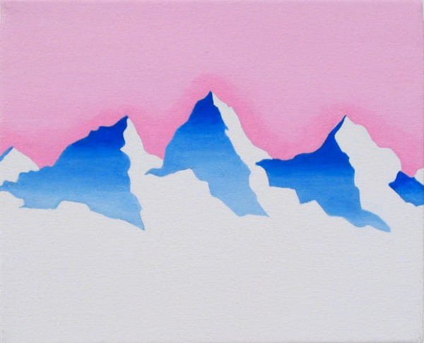 evian, melting glacier water, global warming, plastic bottles, design squish blog