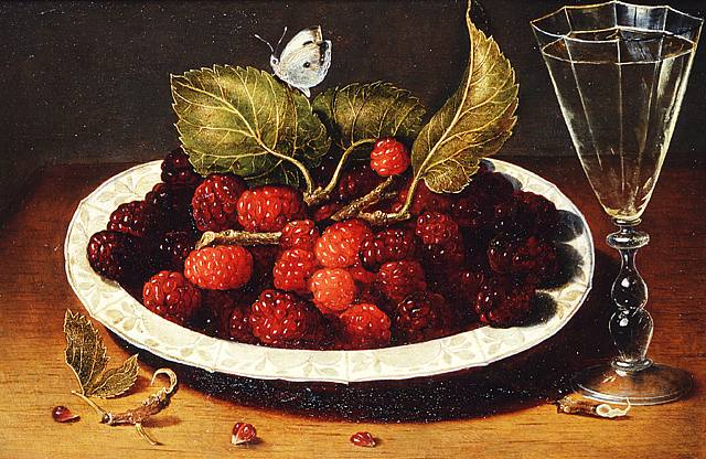 Osias Beert's Still lide with Strawberries