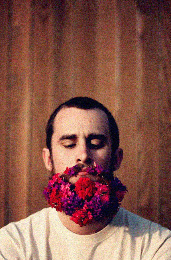 flowery beard, design squish blog