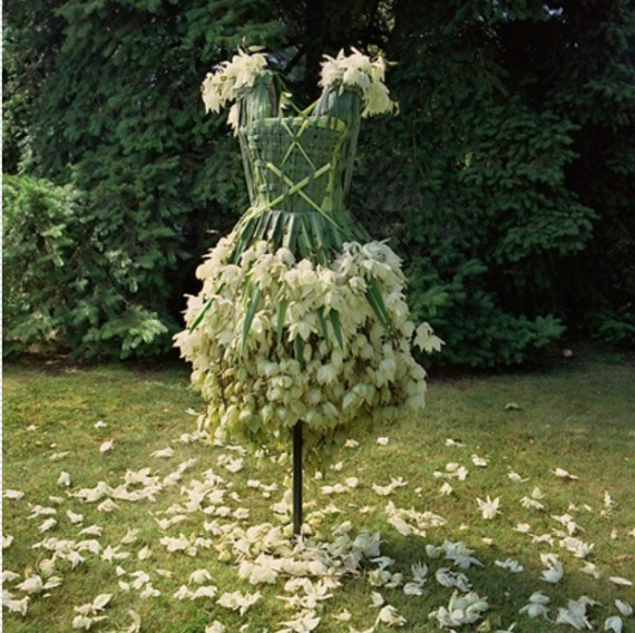 yucca flower dress, weedrobes by nicole dextras, design squish blog
