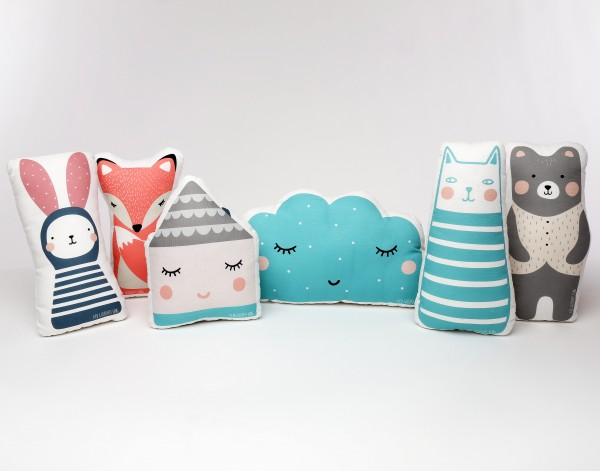 plush baby shape pillows