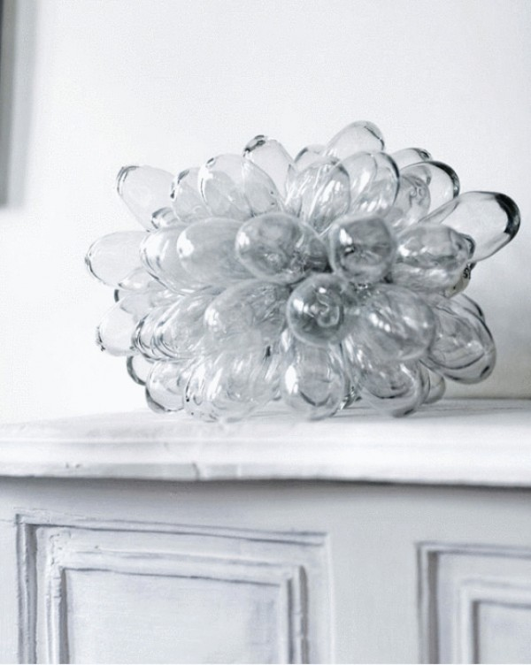 glass drop lamp, design squish blog