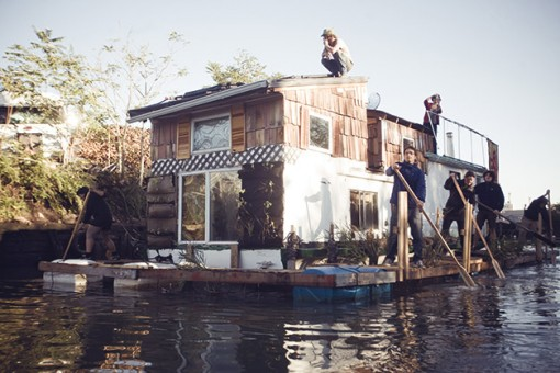 nyc houseboat, gowanus, design squish blog