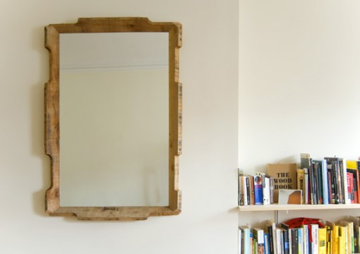 karl zahn, upcycled shipping pallet mirror, pallet redesign,design squish blog