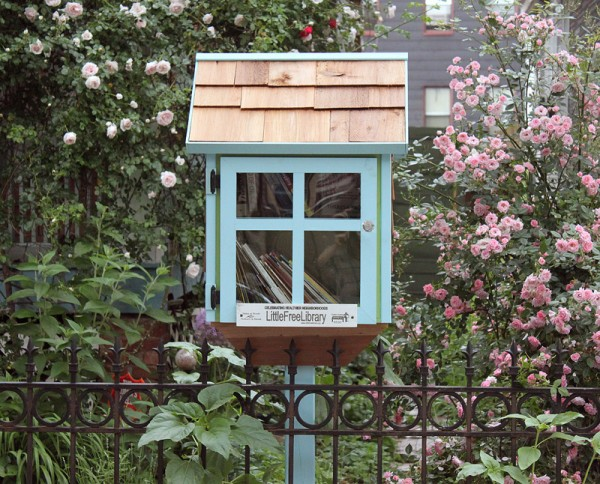 little free library, ditmas park, brooklyn, design squish blog