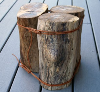  log stool