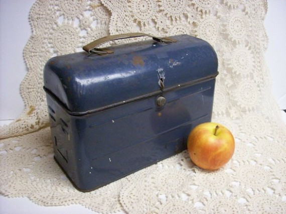 vintage lunch box, design squish blog