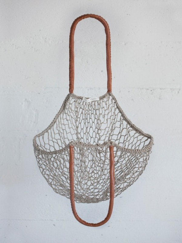 mesh tote bag, russian net tote, avoska,, design squish blog