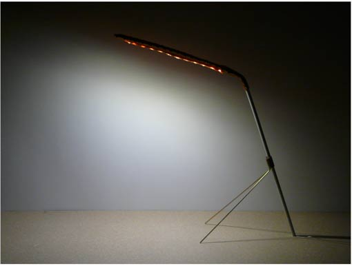 minimal led task lamp