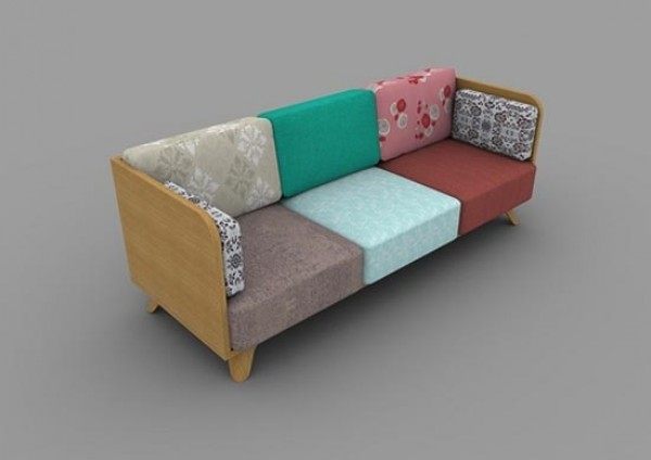 patch sofa, affairs design studio, homestead, dacha nostalgia, design squish blog