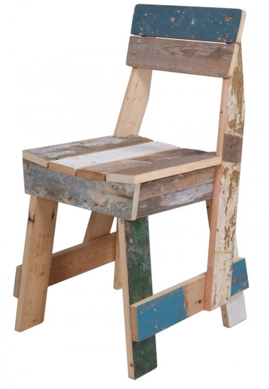 scrap wood chair, design squish blog