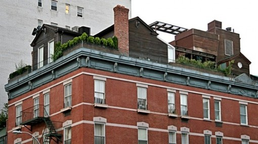 rooftop house, New york city