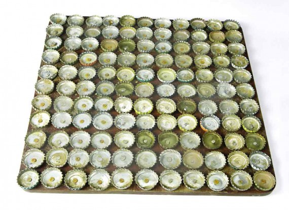 diy bottle cap door mats, russia, design squish blog