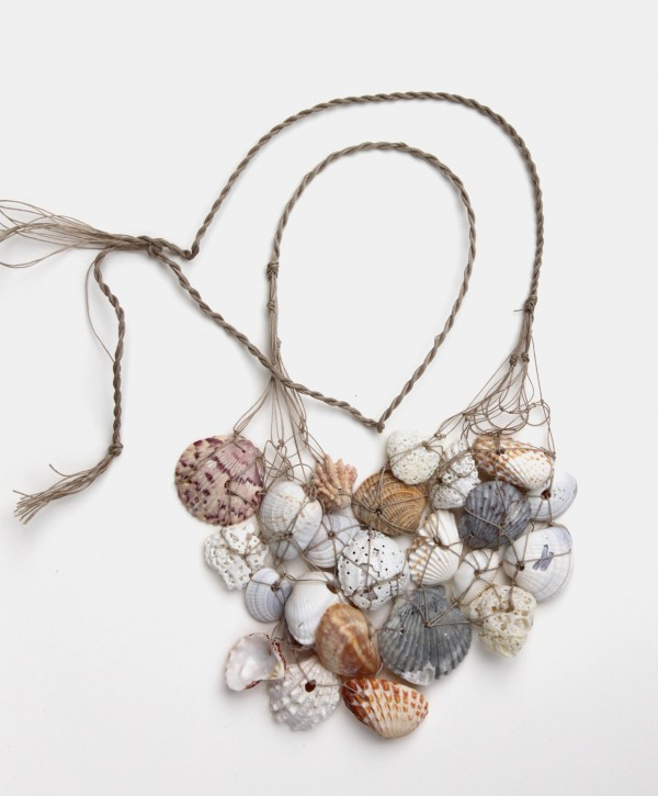 nautical seashell neclace, design squish blog