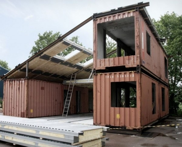 shipping container house,, design squish blog