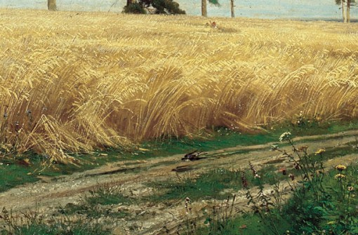 Ivan Shishkin. The Rye Field