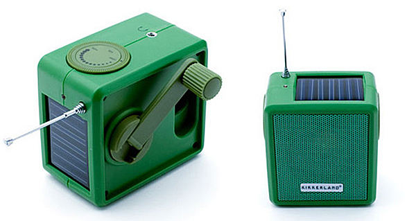 solar powered/ hand kranked radio, design squish blog
