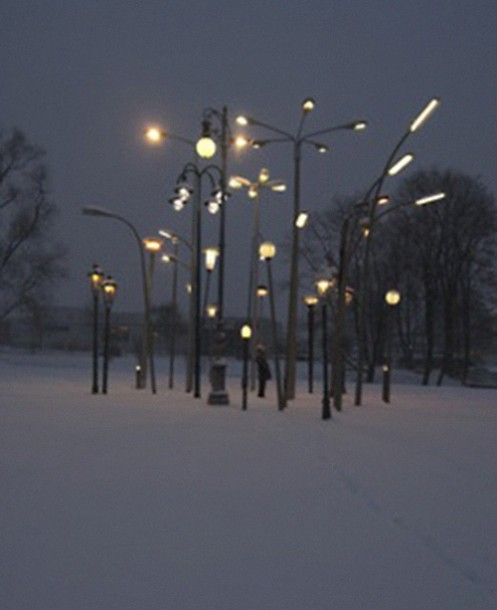 street lights installation, design squish blog
