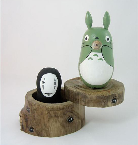 totoro matreshka