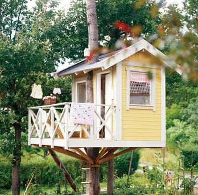 treehouses, design squish blog