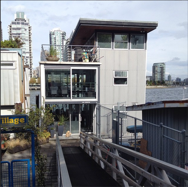 vancouver floating houses, architecture, design squish blog