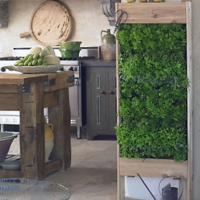 Design Squish Blog VERTICAL HERB GARDENS gardening